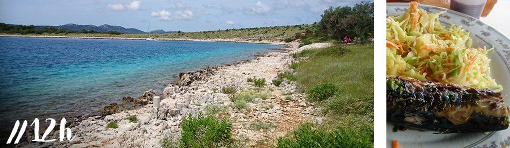 croatie-visite-blog-zadar-iles-kornati-repas-bateau-poisson