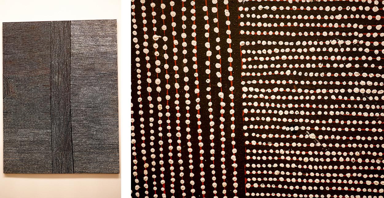 melbourne-roadtrip-voyage-visite-musee-peinture-aborigene-femme
