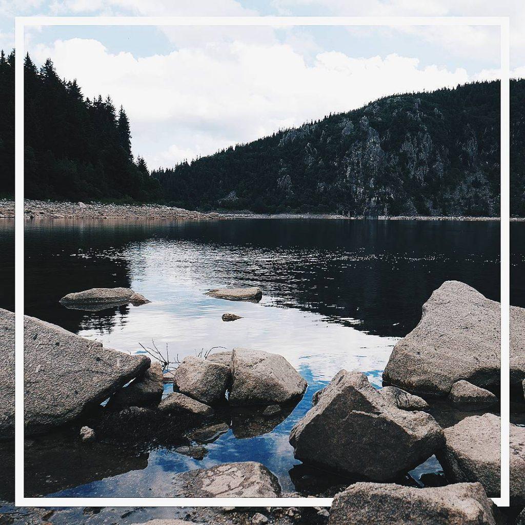 Lac blanc vosges lacblanc grandest randonne mountains lake lac montagneshellip
