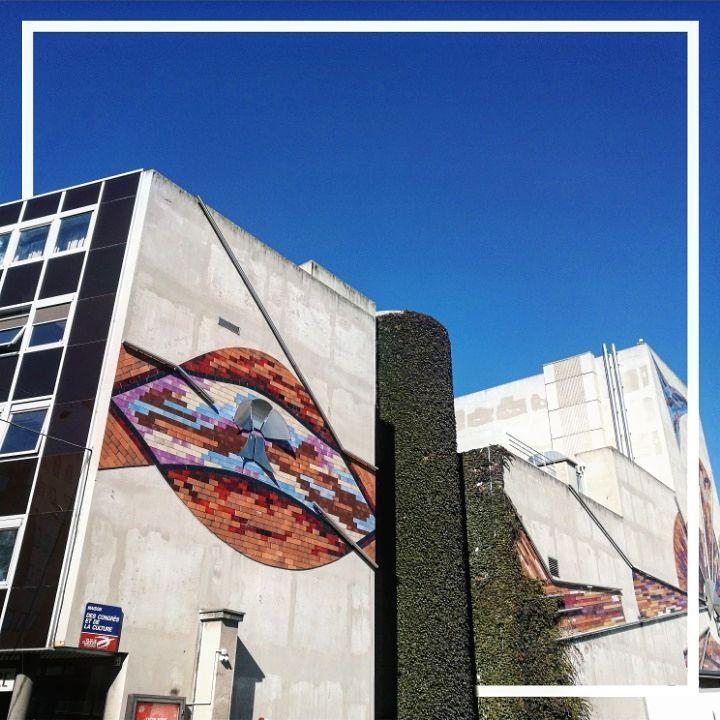 Mur vgtal  clermontferrand clermontfd auvergne auvergnerhonealpes architecture instagood instalovehellip